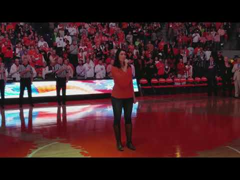 National anthem Notre Dame