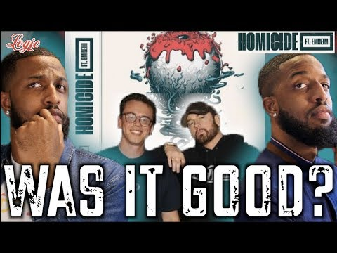 "MALLORY BROS REACT TO LOGIC'S ""HOMICIDE"" FEATURING EMINEM 4K"