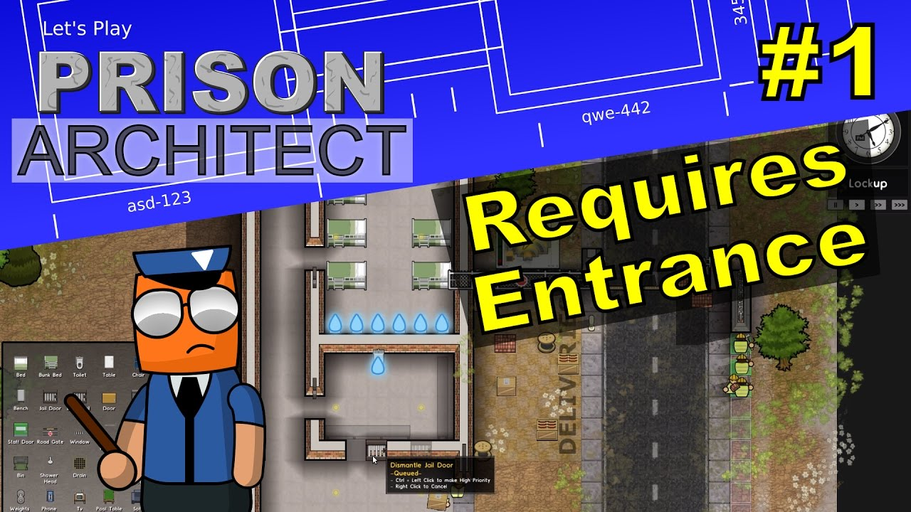 Prison Architect #1 | Requires Entrance
