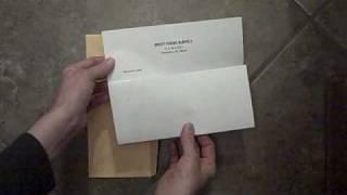 Folding a Letter