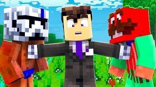 ENFRENTADOS EN UN JUICIO - Minecraft con Noobs