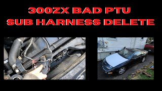 300ZX BAD PTU SUB-HARNESS DELETE