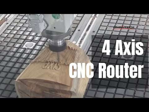 OMNI 1325 Double Head CNC Router