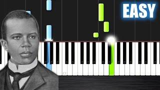Scott Joplin - The Entertainer - EASY Piano Tutorial by Plutax