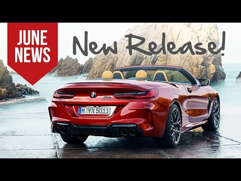 BMW Rolls Out New M8 Lineup and More Top Car News for June 2019