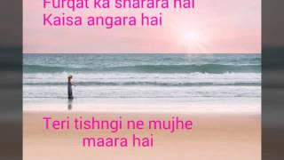 Bewajah Sanam Teri Kasam 2016 Lyrics Himesh Resham
