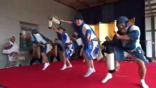 徳島阿波踊り20150814華麗なる技の競演第2部藍吹雪徳島城博物館