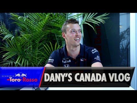 F1 2019: Daniil Kvyat's Canada GP Vlog