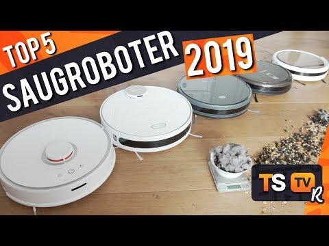 STAUBSAUGER ROBOTER TEST 2019 | TOP 5 Saugroboter ► Überraschender Testsieger !