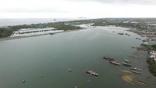 DJI Phantom 3 Advanced: Dayao - Roxas City - Pullback Shot
