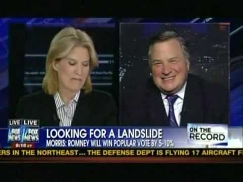 Dick Morris: Romney Will Win Popular Vote by 5% - Get at Least 310 Electoral Votes (11/1/12)
