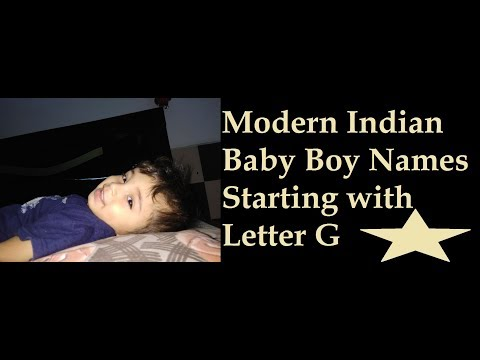 Modern Baby Boy Names Starting with G and Name Meanings