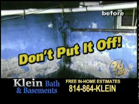 Wet Basement Repair in PA and NY | Klein Basement and Bath Systems.