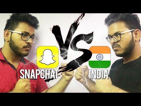Snapchat vs India