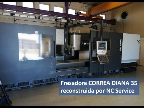 Fresadora Correa Diana 35 reconstruida en NC Service