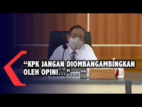Mahfud MD: KPK Jangan Diombang-ambingkan Opini