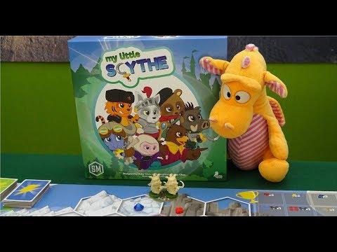 My little Scythe - Gameplay Runthrough (Full 2p game)