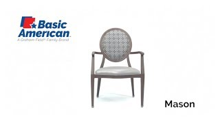 Mason Stack Arm Chair