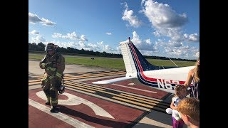 Real Emergency - Power Off Landing with family in Piper Arrow after throttle cable breaks