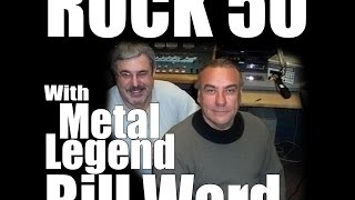 If you missed Saturdays Rock 50 episode we have some materials for
