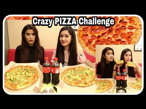 2X Pizza Challenge Ft.That Glam Girl | Domino's Pizza Eating Challenge | Super Style Tips