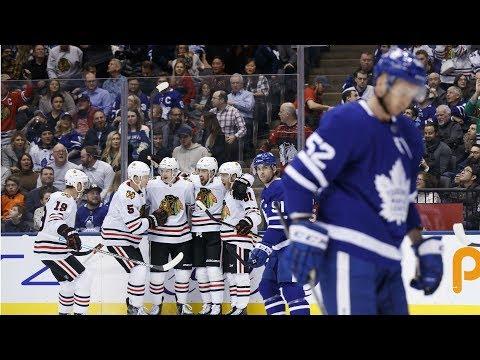 NHL Highlights | Blackhawks vs Maple Leafs - Jan. 18, 2020