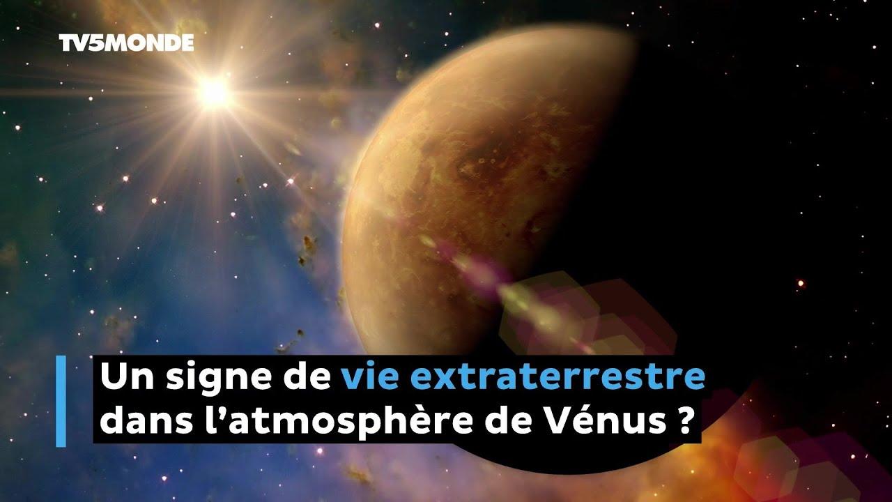 Un signe de vie extraterrestre dans l'atmosphère de Vénus ?