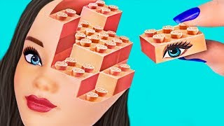 Канцелярия Барби против канцелярии Лего – 10 идей / Челлендж!