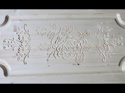 Имитация резьбы по дереву от Чпу Моделист. Часть 1