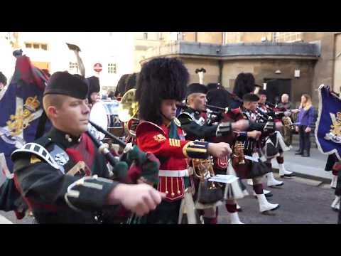 2 Scots - The Royal Highland Fusiliers - Glasgow Homecoming Parade 2018 [4K/UHD]