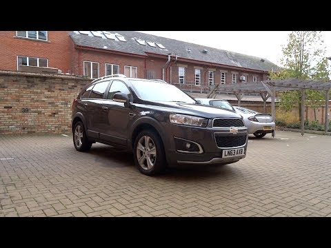 2013 Chevrolet Captiva 2.2 VCDi LTZ Auto (7 seater) Start-Up, Full Vehicle Tour and Night Start-Up
