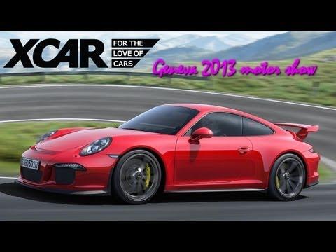Porsche 911 GT3, Geneva 2013 Motor Show - XCAR