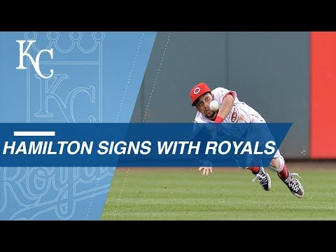 Hamilton's elite speed brings him to the Royals