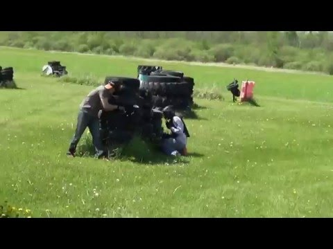 How a real gentleman plays Paintball
