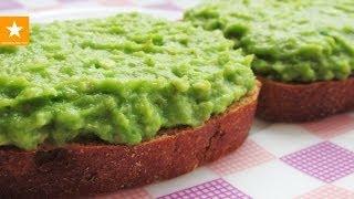 Смотреть онлайн Отличный перекус из мякоти авокадо