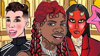 Lil Nas X - MONTERO (Call Me By Your Name) CARTOON PARODY
