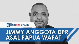 Kabar Duka, Jimmy Demianus Ijie Anggota DPR RI Asal Papua Barat Meninggal Dunia