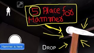 5 easy way to find hammer in granny game (v 1.5.0) update