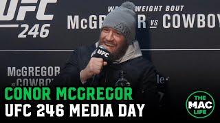 Conor McGregor on Donald Cerrone respect, possible March return and Masvidal/Usman
