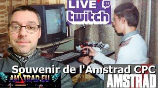 2020-02-01 Partageons nos souvenirs de l'Amstrad CPC (Live Twitch sur le jeu Gunfright)