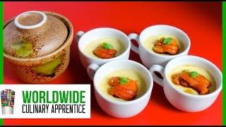 Chawanmushi - Savory Egg Custard - Sea Urchin Egg Custard