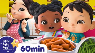 Yes Yes Vegetables Song | +More Nursery Rhymes and Kids Songs | ABCs and 123s | Little Baby Bum