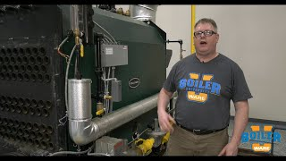 Storing a Boiler with a Dry Lay Up