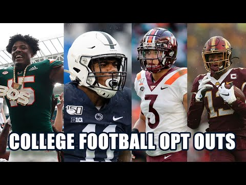 College football opt outs: Who will be the best pro?