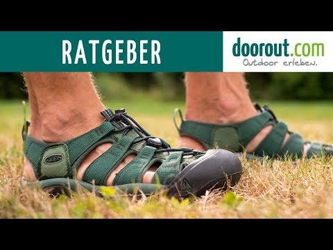 Wandern mit Sandalen? Was beachtet werden muss! | doorout.com