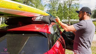 ShredRack aufblasbarer Dachträger für Surf und SUP Boards