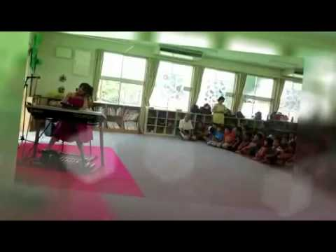 菊陽町立武蔵ヶ丘小学校学童保育☆茶屋桃子エレクトーンコンサート