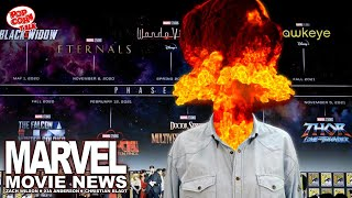 Marvel Movie News: Breaking Down The SDCC Phase 4 Announcements!