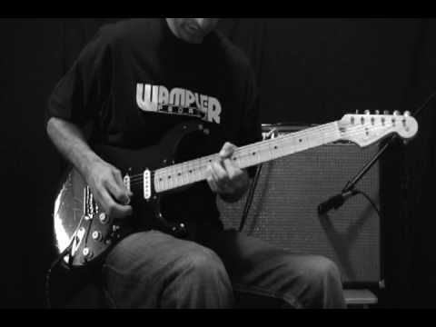 Comfortably Numb Solo - Fender Custom Shop Gilmour Relic Strat