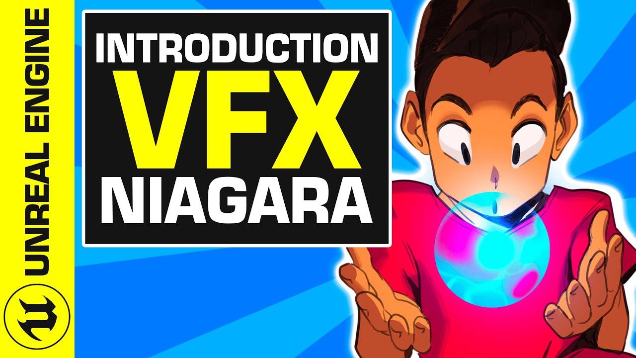 #2 Crée ton Premier VFX avec Niagara ! | UE4 Niagara Tuto FR